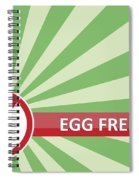 Egg Free Banner Spiral Notebook