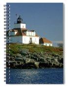 Egg Rock Lighthouse Spiral Notebook