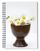 Eggcup Daisies Spiral Notebook