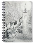 Eggshells In Candlelight Spiral Notebook