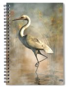 Egret Spiral Notebook