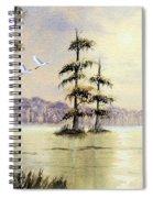 Egrets Over Wakulla Springs Spiral Notebook