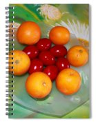 Egss Fruits And Flowers Spiral Notebook