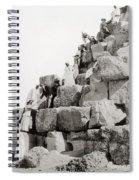 Egypt C1890 Spiral Notebook