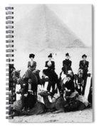 Egypt C1895 Spiral Notebook