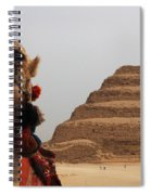 Egypt Step Pyramid Saqqara Spiral Notebook