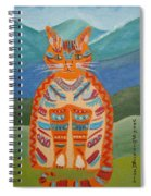 Egyptian Don Juan Spiral Notebook