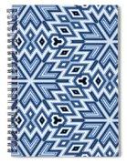 Egyptian Pyramidal Cubes Spiral Notebook