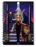 Egyptian Queen Spiral Notebook
