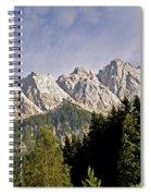 Eibsee Bavaria Germany Spiral Notebook