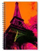Eiffel 20130115v1 Spiral Notebook