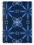Eiffel Art 18 Spiral Notebook