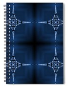 Eiffel Art 36a Spiral Notebook