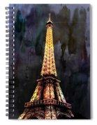 Eiffel Tower-3 Spiral Notebook