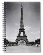 Eiffel Tower And Park 1909 Spiral Notebook