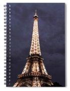 Eiffel Tower-1 Spiral Notebook