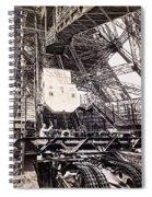 Eiffel Tower Elevator Shop C. 1888 Spiral Notebook