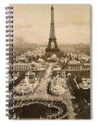 Eiffel Tower, Paris, 1900 Spiral Notebook