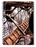 Eiffel Tower Paris France Close Up Spiral Notebook
