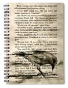 Eight Day Clock Spiral Notebook