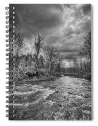 Eighteenmile Creek 1835b Spiral Notebook