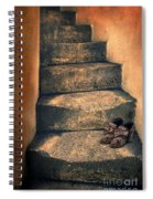 Eighteenth Century Shoes On Old Stairway Spiral Notebook