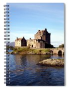 Eilean Donan Castle Kintail Scotland Spiral Notebook