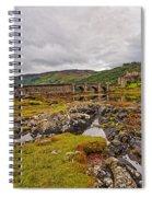 Eilean Donan Castle Dornie Spiral Notebook