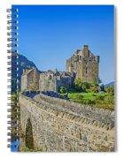 Eilean Donan Castle Walkway Spiral Notebook