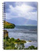 Eilean Donan Loch Duich Spiral Notebook
