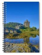 Eilean Donan Reflections Spiral Notebook