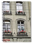 Einstein House Spiral Notebook