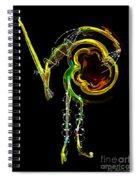 El Asesino En Su Traje De Luces Spiral Notebook