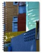 El Caminito La Boca Buenos Aires 2 Spiral Notebook