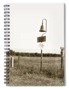 El Camino Real Mission Bell Near San Fernando Mission California 1906 Spiral Notebook