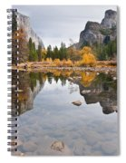 El Capitan Reflected In The Merced River Spiral Notebook