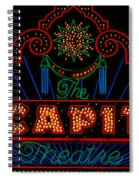 El Capitan Theatre Sign In Hollywood Spiral Notebook