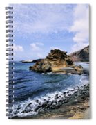 El Golfo Beach On Lanzarote Spiral Notebook