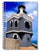 El Morro Lighthouse Spiral Notebook