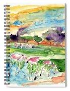 El Rocio 09 Spiral Notebook