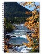 Elbow River View Spiral Notebook