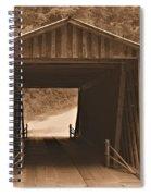 Elder Mill Covered Bridge Spiral Notebook