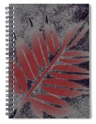 Elderberry Leaf Spiral Notebook