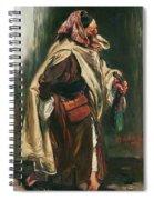 Elderly Moroccan Jew, 1867 Oil On Canvas Spiral Notebook