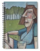 Eleanor Rigby Avec Chardonnay Spiral Notebook