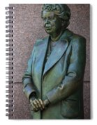 Eleanor Roosevelt Memorial Detail Spiral Notebook