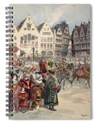 Election To The Empire The Procession Spiral Notebook