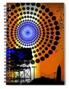 Electric Avenue Spiral Notebook