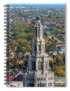 Electric Building Spiral Notebook