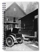 Electric Car, C1919 Spiral Notebook